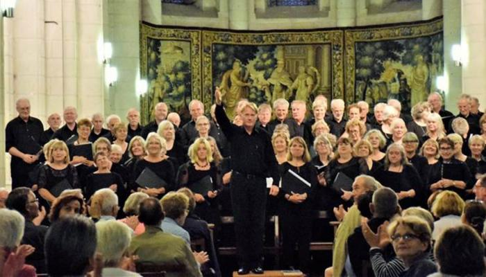 Gaudeamus Chorale in the Loire
